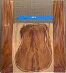 Honduras Mahogany Log 582 B/S Dreadnought Set 8